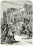 Attempted Assassination of George III on his way to the House of Lords