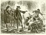 Charles Edward sheltered by the Highlanders after the Battle of Culloden