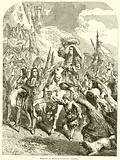 William of Orange entering Exeter