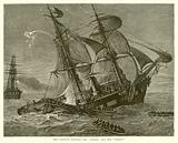 """The Collision between the """"Oneida"""" and the """"Bombay"""""""