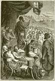 Herodotos reading his History at a Public Festival