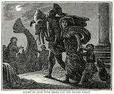 Flight of Jason with Medea and the Golden Fleece