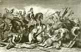 Hannibal's Troops despoiling their dead foes after the Battle of Cannae