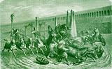 Roman Public Games under the Empire. – The Chariot Race in the Circus