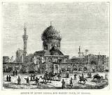 Mosque of Ahmed Khiaga and Market Place, at Bagdad