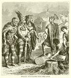 Stilicho Negotiating with the Goths