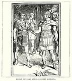 Roman General and Legionary Soldiers