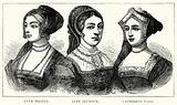 Anne Boleyn. Jane Seymour. Catherine Parr