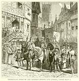 Triumphant Entry of the Catholic Bishops into London, under Mary I