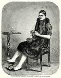 Costume of German Peasant Woman of Oldenburg
