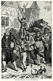 Alsatian Peasants Flying to Strasburg