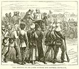 The Meeting of Sir James Outram and General Havelock