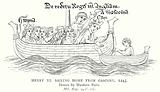 Henry III Sailing Home from Gascony, 1243