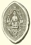 Seal of Oxford University, c. 1300