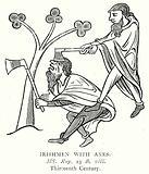 Irishmen with Axes
