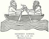 Irishmen Rowing