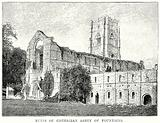 Ruins of Cistercian Abbey of Fountains