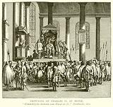 Crowning of Charles II at Scone