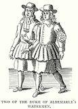 Two of the Duke of Albemarle's Watermen