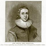 John Milton, aged Twenty-One