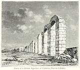 Ruins of a Roman Aqueduct at Chemtou (Simittu Colonia)