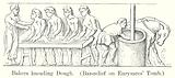 Bakers Kneading Dough, (Bas-Relief on Eurysaces' Tomb)