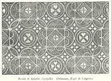 Mosaic of Igilgilis (Djidjelli), (Delamare, Expl. de l'Algerie).