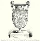 Scenes from the Elysian Fields, on an Italo-Greek Vase in the Munich Museum