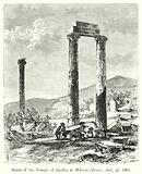 Ruins of the Temple of Apollo, at Miletus