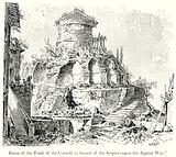 Ruins of the Tomb of the Cornelii (a Branch of the Scipios) upon the Appian Way
