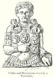 Collar and Decorations Worn by a Centurion