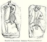 Bas-Relief of Dyrrachium: Dalmatian Warriors or Gladiators