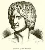 German, called Arminius