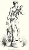 Britannicus as Bacchus