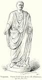 Vespasian. Statue found near Rome