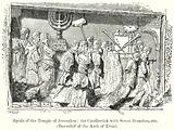 Spoils of the Temple of Jerusalem : The Candlestick with Seven Branches, etc