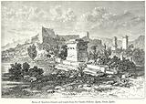Ruins of Xanthos (Theatre and Tomb) from Sir Charles Fellows Lycia, Caria, Lydia