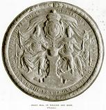 Great Seal of William and Mary. (Obverse)