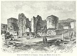 Ruins of the Basilica (?) of Pergamus