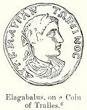 Elagabalus, on a Coin of Tralles