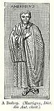 A Bishop, (Martigny, Dict. des Ant. chret).