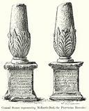 Conical Stones representing Melkarth-Baal, the Phoenician Hercules