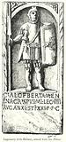 Legionary with Helmet, armed with the pilum