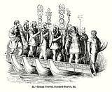 Roman General, Standard-Bearers, &c