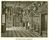 The Entrance Hall at Abbotsford