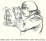 The King of Brobdingnag and Gulliver