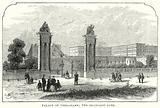 Pakace of Versailles; the Orangery Gate