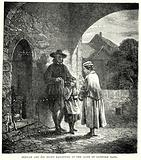 Bunyan and his Blind Daughter at the Gate of Bedford Gaol