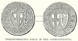 Twenty-Shilling Piece of the Commonwealth
