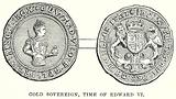 Gold Sovereign, Time of Edward VI